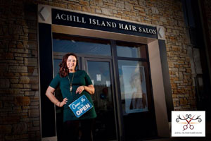 local business ForAchill Island Beauty Salon
