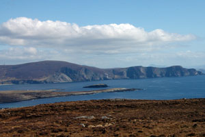 minaun heights achill island