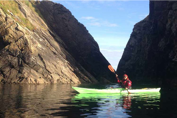 sea kayak on achill island