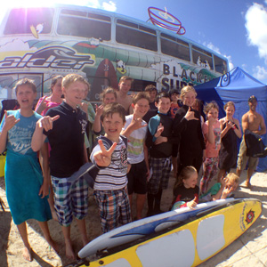 Blackfeild surf school kids